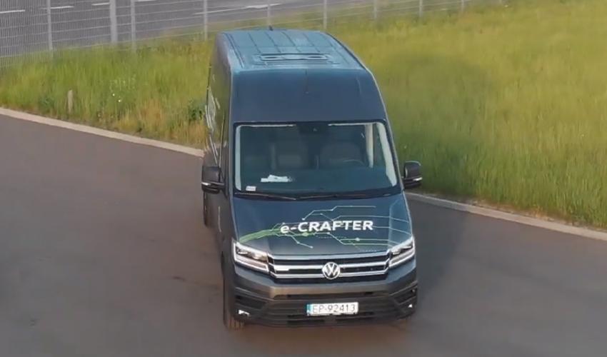Poznaj samochody - Volkswagen e-Crafter