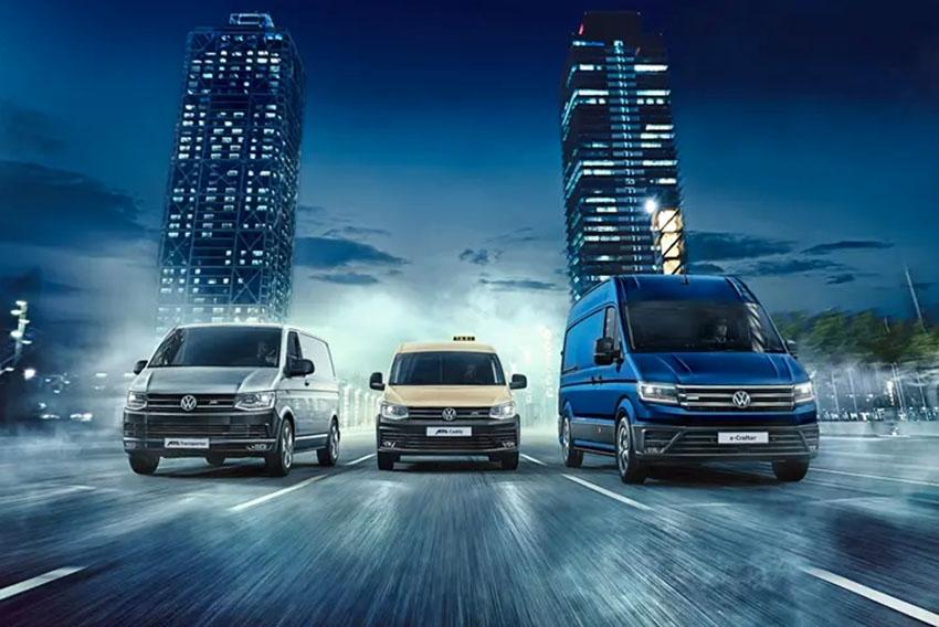 Volkswagen samochody e-Dostawcze