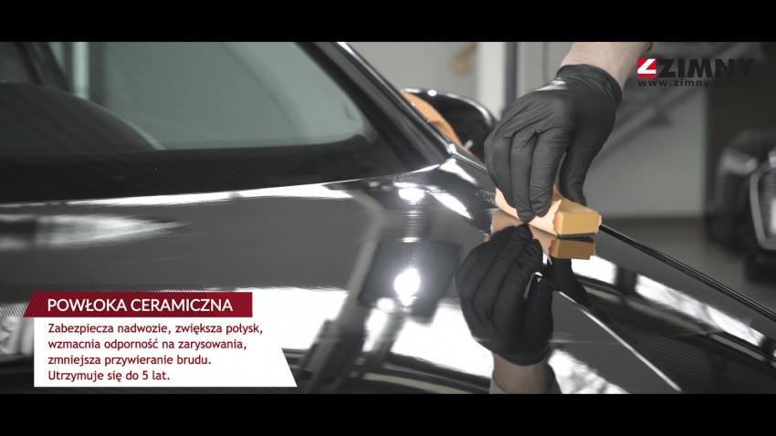 Zimny Auto - Auto Spa, nakładanie powłoki ceramicznej