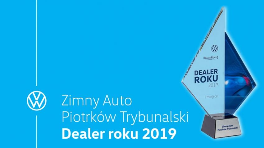 Zimny Auto - Dealer Roku 2019 marki Volkswagen